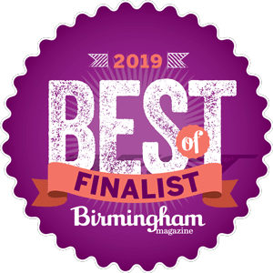 Best of Birmingham Magazine 2019 Finalist